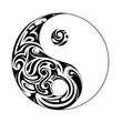 Ying yang shape