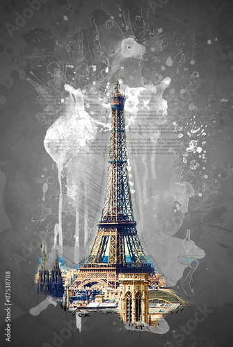 Eiffel tower © romas_ph