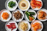 韓国の漬け物 集合  Korean pickle group photo