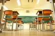 Classroom of japanase high school