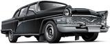 Fototapety Soviet luxury car