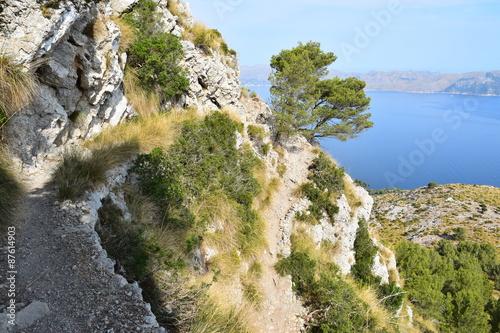 szlak-turystyczny-z-przepieknym-widokiem-w-poblizu-alcudia-na-majorce