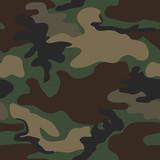 Fototapety Camouflage seamless pattern