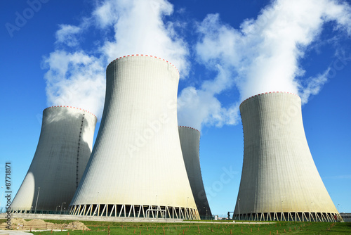 Nuclear power plant Temelin Poster