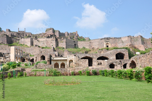 Golconda Fort in Hyderabad, India. Poster