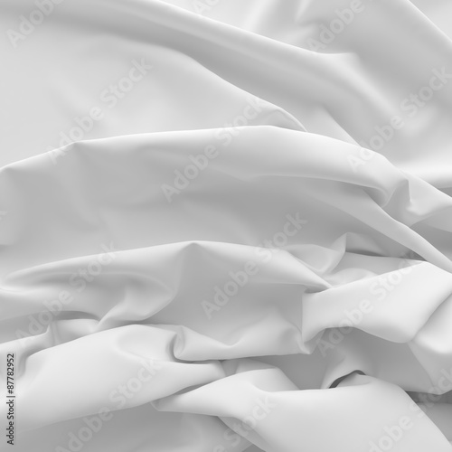 Textiles with folds for background.  © dymentyd