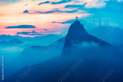 Zdjęcia na płótnie, fototapety, obrazy : Sunset view of Rio de Janairo, Brazil
