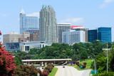 View on downtown Raleigh, NC. USA