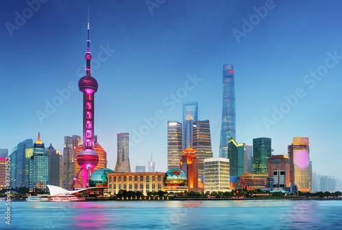 Zdjęcia Shangahi skyline, China.