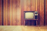 Old vintage television or tv - 87889905