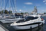 Jachty w porcie w Gdyni