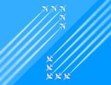 航空ショー 矢印2