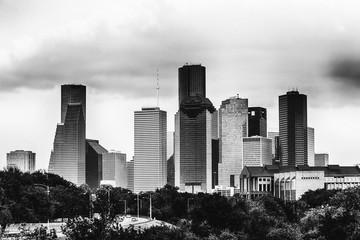 Houston w czerni i bieli