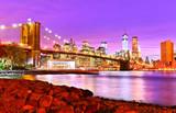 Fototapety View of New York City at night