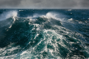 sea wave in atlantic ocean