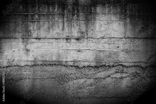 Staande foto Betonbehang Concrete wall background