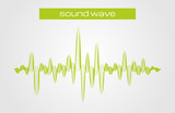 Fototapety Vector illustration of a music sound equalizer wave