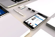 online shop smartphone office