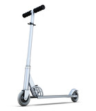 Fototapety Scooter isolated on white