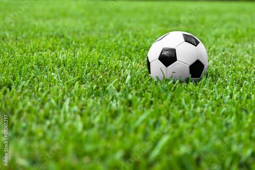 Soccer Ball  Futbol on Grass