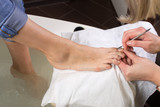 step of pedicure process
