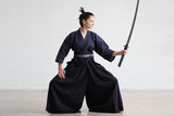 Samurai japan woman