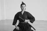 Japan woman samurai