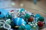 Fototapety Perle blu e verdi