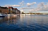 Stockholm am Wasser - Stadtviertel Östermalm