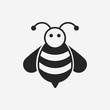 Obrazy na płótnie, fototapety, zdjęcia, fotoobrazy drukowane : bee icon