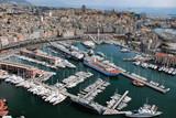 Porto di Genova veduta dall
