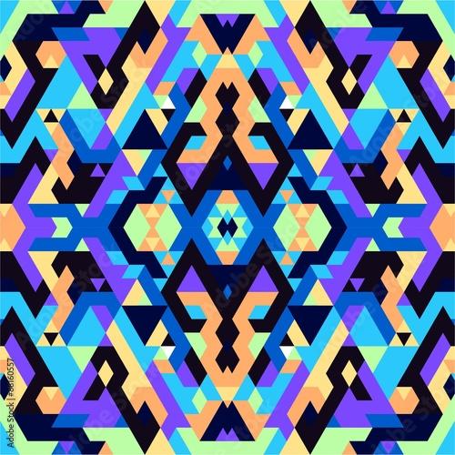 Cotton fabric Geometric Colors Pattern