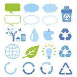 Set of eco elements