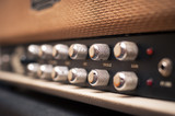 Guitar amplifier knobs detail - 88170164