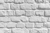 Fototapety White Brick Wall Background