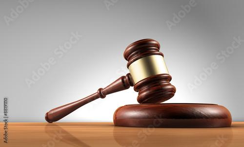 Law Judge And Justice Symbol