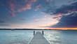 abendliche Sonne am See