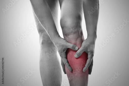 Schmerzen im Schienbein Poster