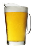 Pitcher of Beer with Foam