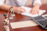Professional lawyer signing documents - Fine Art prints