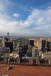 Central park and New york city skyline