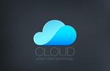 Cloud computing Logo design. Creative technology logotype - 88344168
