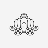 carriage line icon
