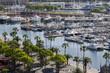 Obrazy na płótnie, fototapety, zdjęcia, fotoobrazy drukowane : Yachts in Barcelona, Spain