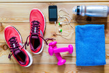 fotografování na podlaze objekty pro sport
