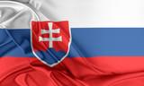 Slovakia Flag.