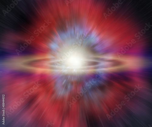 Exploding supernova