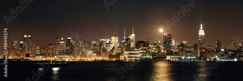 Moon Rise Manhattan