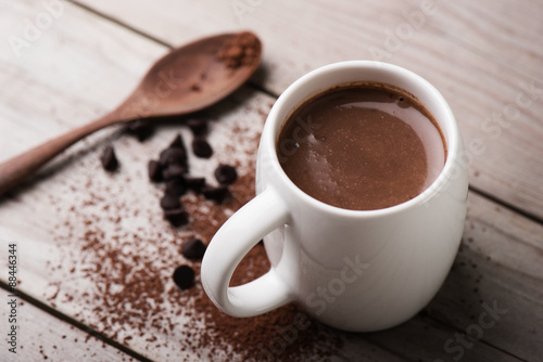 Canvas Chocolade hot chocolate