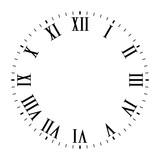 Vintage Roman numeral clock
